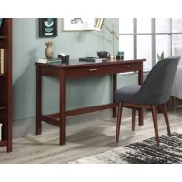 Whether it's working on your next big project or just writing out a grocery list, we've got you covered! Create a convenient work space for any room in your home with this writing desk from the Brook land collection. This writing table offers a spacious top surface that provides you with all the room you need for desk essentials like your laptop, a cup full of pens, your collection of notebooks and your favorite coffee mug too. It even has room for home decor items like an accent lamp and...