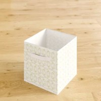 Here to save you some serious space, this collapsible storage cube brings order to all the chaotic clutter! Compact and crafted out of durable non-woven material, it's conveniently sized to place on a top shelf or cubby and even pop into a cramped closet. This handy and versatile storage vessel works in a variety of spaces, including the home, office, or classroom. Stash everything from toys and crafts, school and office supplies, laundry accessories, and more. It easily folds flat in a small...