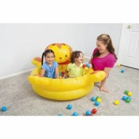 The product is a worthy addition to your family pride. Kids can maximize the fun of their new surroundings. The safety valves provide air retention during play while speeding up inflation and deflation. Use only under competent supervision.