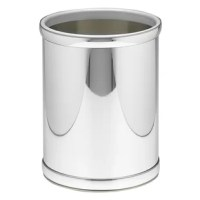 This Waste Basket is the perfect blend of functionality and aesthetic appeal. It has a neat and simple structural design that makes it pleasing to look at and easy to handle. This waste basket has a practical and compact build that makes very efficient use of space and makes it easy to accommodate. It is made from high quality metal that lends it lasting durability and excellent stability, thereby giving you years of uninterrupted service. This Waste Basket is available in a range of attractive...
