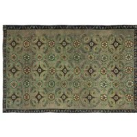 Authentic Vintage Rug, hand-knotted by Turkish artisans over 50 years ago.