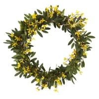 Olive and Forsythia Artificial 20