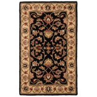 Add a refined and polished look to your home with the effortlessly stylish and elegant Charlton Home Cranmore Black Area Rug. This rug is made using high-quality wool, making it soft and durable. Sporting dark and luxurious, this gorgeous area rug adds a touch of pure elegance and class to your room. The attractive floral designs are reminiscent of Oriental designs, making it ideal for traditional and modern home decors. This Cranmore Black Area Rug from Charlton Home is available in multiple...