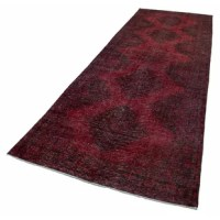 Authentic vintage rug hand-knotted by Turkish artisans over 50 years ago.
