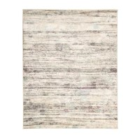 Both incredibly soft and highly durable, the distressed design of this beautiful piece offers contemporary elegance and visual intrigue to your living space. Styled for modern, bohemian, and transitional decors, the variegated stripes mixed with the muted color palette creates a healthy dose of vibrant texture and color to any high-traffic area of the home. Crafted from 100% Polypropylene, this sturdy base combines the soft texture and subtle shimmer to add depth and dimension to your living...