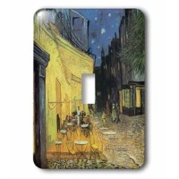 Cafe Terrace at Night vintage Van Gogh Light Switch Cover is made of durable scratch resistant metal that will not fade, chip or peel. Featuring a high gloss finish, along with matching screws makes this cover the perfect finishing touch.