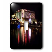 Flamingo Casino in La Vegas Nevada Light Switch Cover is made of durable scratch resistant metal that will not fade, chip or peel. Featuring a high gloss finish, along with matching screws makes this cover the perfect finishing touch.