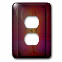 The light switch cover is made of durable scratch resistant metal that will not fade, chip or peel. Featuring a high gloss finish, along with matching screws makes this cover the perfect finishing touch.