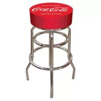 This Coca Cola Bar Stool will be the highlight of your bar and gameroom.