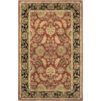 Featuring a classic traditional rug design, this Floral Area Rug will spruce up the decor of any room that it is placed in. Perfect for indoor use, this beautiful area rug is handmade using a tufted weaving technique giving it terrific durability and comfortable texture. Made from 100% pure wool with a cotton backing, this rug features an exquisite and vibrant design accentuated by the intricate motifs and floral patterns. This Floral Area Rug is available in a variety of sizes.