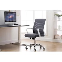 This conference chair, the one you can always feel comfortable with You and your office desk chair has a much closer relationship than you may care to admit. Discover how the conference chair can make a difference in comfort and work efficiency. If you sit on these office chairs for long hours, their mesh backs will keep the air circulating freely so you can stay cool. With one push of the lever, you can effortlessly adjust the ergonomic office chair to complement the height of any desk...
