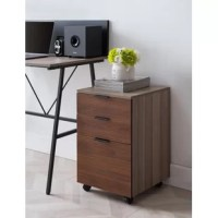 This small file cabinet has 3 spacious drawers. You can pull all your essentials inside, like printing paper, pens, books, or even snacks. The bottom drawer accommodates letter and A4 size files. It fits under most desks for your convenience.