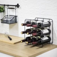 This wine rack is designed to provide the utmost quality of craftsmanship for a timeless appeal for any room. It can build a foundation that will transform the style of living.