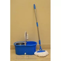 This product is ideal for home, kitchen, auto, hotels, restaurants, salons, etc. This easy to use spin mop is made for high-efficiency floor cleaning and features a stainless steel wringer. Also included is a soap dispenser for your cleaning chemicals and 4 premium microfiber mop heads.