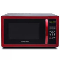 This microwave delivers power, style, and convenience with a sleek design to complement your kitchen. Features include 10 power levels and a memory function that stores and recalls your preferred cooking settings. The farberware classic offers an easy to operate digital interface with 1-6 minute express cook buttons, time or weight based defrost controls, +30-seconds control, as well as six pre-programmed cooking functions for popcorn, pizza, a dinner plate and more. Multi-stage cooking means...