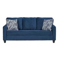 This sofa is a rich choice of neutral. Three back cushions and two coordinating pillows bring comfort, while a bench seat lends a unique flair to this stationary sofa. The sofa is designed and manufactured to be dependable, accessible, and adaptable to any style. It is made and shipped with real living in mind. The box will come equipped with all the tools and instructions you'll need. Assembly is almost effortless… almost!
