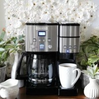 The Coffee Center features a fully automatic 12-Cup Coffee Maker on one side and a single-serve brewer on the other. Sipping solo or serving a crowd, it's easy to enjoy the gourmet taste you expect from a Cuisinart coffeemaker.