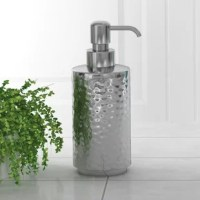 Modern with classic charm, hammered shiny stainless steel finish make your bathroom with distinction.
