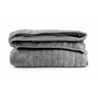 Sleepforce weighted blankets include a heavy weighted inner quilt and removable soft Minky duvet cover. This premium blanket is constructed from the highest quality materials like high-end cotton and multi-layered microfiber fabric. The weighted inner blanket is filled with deep-touch pressure stimulation glass beads. Even weight distribution is achieved by sewing the glass beads into equally filled sections. The soft outer cover can easily be removed for washing at home.