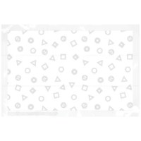 Ours 20 count disposable placemats provide a quick sanitary surface for your child at mealtime. Easy peel and stick adhesive help each mat stay in place. For use at home, in restaurants, and a true must-have for your travel/diaper bag.