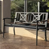 This Patio Bench will never disappoint you. They are the best ideal for both residential and commercial location, this product will definitely match any of your outdoor, patio and garden. We promise that you will find the lowest prices on our products here, all available with fast shipping when you order from the best products website.