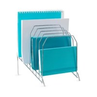 With all the thinking, planning, dreaming, envisioning, drafting, creating, and strategizing you're doing each day, give your mind the gift of space. The 8 sections in this file organizer are designed to give you easy access to all your files and folders, in a roomy organizer that feels at home in your office space - or any space.