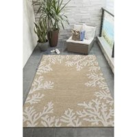 This collection of indoor/outdoor area rugs features vibrant colors and coastal designs that complement your space. Bring the outdoors in with this rug collection and enjoy a beachy feel all year long. Or dress up your deck by adding a rug, elevating the look of your outdoor area and providing your feet with some cozy comfort! Hand-hooked of weather-resistant fiber, this collection is a blend of comfort, design, and durability.