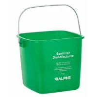 The cleaning water pail is a set of 3 cleaning pails of cleaning solutions respectively. This is a complete package of sturdy different sized cleaning pails for handling all sizes of cleaning jobs and it can withstand years of commercial use. Constructed of durable polyethylene. With a strong zinc handle to carry the cleaning bucket to your dirty jobs, it won't rust or corrode. The bucket contains multi-lingual text on the front to keep employees informed about health codes and the bucket's...