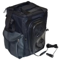 This is the smallest of four new 'soft sided coolers' by Koolatron. This great cooler can be taken anywhere, such as in a car, picnic sites, hotels, office, and more! For even more convenience the D13 plugs into all 12V cigarette lighters.