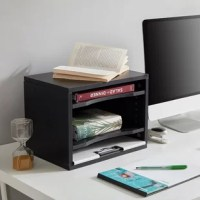 This mail sorter with unique arc design is convenient for customers to get documents, letters, files, etc. Adjustable drawers suit your using habit to satisfy different storage needs.