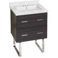 This modern Phoebe Marble Top Drilling Floor Mount 24