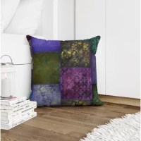Add a warm welcoming texture to your home with super plush and cozy pillows. This reversible pillow features an eco-friendly cushion filling to ensure comfort on any sofa, chair or bed.