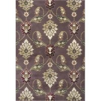 Jazz up your home with this breathtaking plum palazzo rug, which will make artistry out of your floors. It's a worldly piece, which will definitely impress all who see it and turn the heads of your friends and guests. This rug is a high quality piece , which is machine-made of heat-set polypropylene with no backing. It's part of the collection, and its current color palette in classic and transitional patterns will give an appealing modern feel to the look and feel of your home.To care for it...