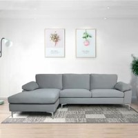 With space to lounge out with the whole family during binge-worthy TV channel, sectional sofas are a must-have for maximizing both seating arrangements and comfort in your abode. It is solid-colored upholstery, able to match multiple styles.