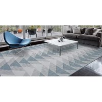 This rug provides a pleasing backdrop for a variety of room styles. Adorn your home with complementing designs and colors to create a striking living space that invites everyone to settle in and feel right at home. These rugs are ideal for your patios, decks, and porches, as well as high traffic areas such as the kitchen and living room.