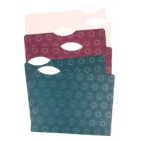 Put your important documents in these file folders to make sure your business stays on track. The folders are designed to help you create labels and sport fashionable patterns to make a statement.
