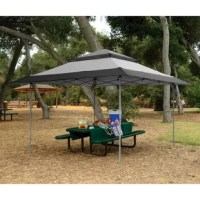Don't let fear of the sun or rain ruin your time outdoors. Enjoy it in your Z Shade Instant Gazebo Outdoor Shelter. Ideal for picnics, sporting events, weddings, and other backyard events, this outdoor gazebo keeps you safe and dry. It comes fully assembled for instant shelter and it sets up in just minutes. Featuring 150D polyester fabric, this tent provides you with 99% UV protection. You'll be ready for your event rain or shine when you pop up the Z Shade Instant Gazebo Outdoor Shelter....