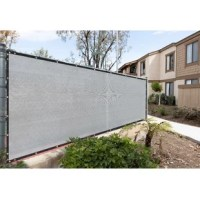 Tired of your neighbor's dog barking at your kids or your neighbor spying on you? Protect your privacy with Privacy Fence Screens, built with care and made of 170 GSM 100% non-recycled high-density polyethlene (HDPE), reinforced stitched edges with black bindings, and durable anti-rust brass grommets.Fence screens are proven to hold up strong through wind, sun, and rain while providing 90% visibility and 93% UV blockage. Installation is simple with zip ties and a generous amount of grommets to...