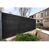 Tired of your neighbor's dog barking at your kids or your neighbor spying on you? Protect your privacy with Colour Tree Privacy Fence Screens, built with care and made of 170 GSM 100% non-recycled high-density polyethylene (HDPE), reinforced stitched edges with black bindings, and durable anti-rust brass grommets. Their fence screens are proven to hold up strong through wind, sun, and rain while providing 90% visibility and 93% UV blockage. Installation is simple with zip ties and a generous...