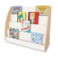 This NewWave 4 Compartment Book Display is designed to be placed against a wall to provide children with easy viewing and access to books. The one-sided design with four display shelves works in any classroom environment.