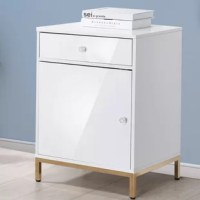 This vertical filing cabinet is primarily built to hold its namesake, files, but could also be used to store remotes, reading material, and other personal items as well. As functional as stylish, it features two drawers with metal pullouts that provide easy opening. The spacious top offers room to display your family photos, table clock, and other decorative displays.