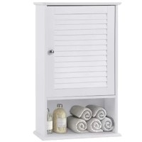 This bathroom storage cabinet can utilize the spare wall space in the bathroom, kitchen, and corridor, helping you build a convenient and neat living environment. It comes with elegant white paint finish and high-quality materials, ensuring that it will easily match your home decor. 2 interior adjustable shelves, with 3 heights to choose from, are designed to allow you to store items of different sizes while keeping them clean and dry. Enjoy a clean and organized bathroom with this convenient...