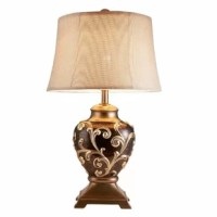 This elegant table lamp is designed to bedazzled your home decor collection that accent your passion for design and home comfort.
