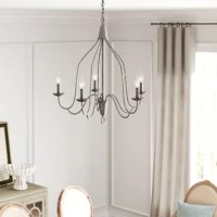 Mimi 5 - Light Candle Style Classic / Traditional Chandelier