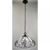 Craft a classic-style room with the help of this Ryckman 2-Light Unique / Statement Dome Pendant. Hang the lamp to the optimal height of your room with the adjustable mahogany-finish chain, and enjoy the gently diffused light from 2 bulbs. It is made with an instantly recognizable Tiffany-style design. It will bring an ornate elegance to your space. This Tiffany 2-Light Bowl Pendant is a good fit for most home decor themes.