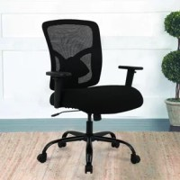We recommend this new big and tall office chair, unlike regular mesh chairs, it's features big and wide seats for extra comfort on those long working days and desk chair has an extremely comfortable back that adjust 6 position lumbar what you need and supports your back, whether you're working at high pressure, or gaming intensely.