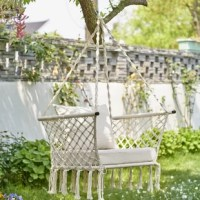 This hammock chair swing is perfect for a quick snooze or a leisure afternoon. You could hang up your hammock chair outdoor on a porch or in a tree. It features a sturdy frame for extra strength and durability, and is excellent for reading, relaxing, meditating, and so on.