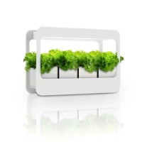 This modern-style indoor garden kit has a sleek design and a number of features to give you everything you need to grow plants, flowers, succulents, veggies, and herbs comfortably inside your home. Whether you have a green thumb or not, this grow lamp lets you bring the beauty of plant life to your office, kitchen, living room, bedroom - the possibilities are endless.