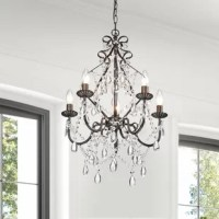 Wilkerson 5-Light Candle Style Classic / Traditional Chandelier