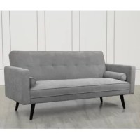 Classic modern style sofa couch, living room sofa, convertible twin sofa bed, perfect for small space. Perfectly sized for small spaces and the simple yet unique contemporary design lends a relaxed and sophisticated look. Multi-functions living room sofa easy converts from sitting to lounging and sleeping position.